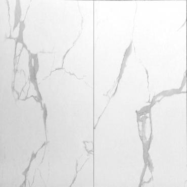 floor tiles wall tiles Monarch White Tru-Stone Porcelain 24x24 matte