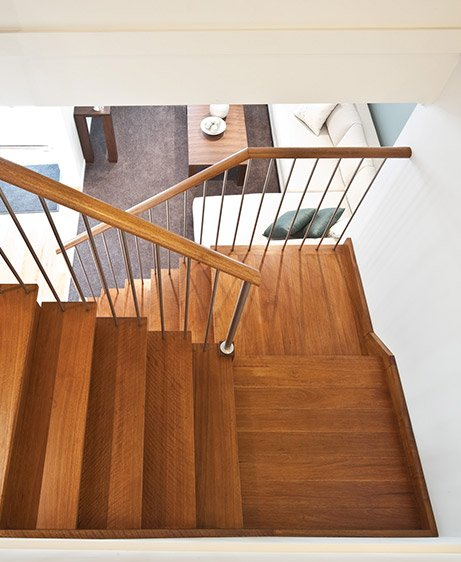 Stainless Steel Balustrade Staircase Renovations in the GTA (Toronto), Missisauga, Ottawa, Vancouver and Edmonton
