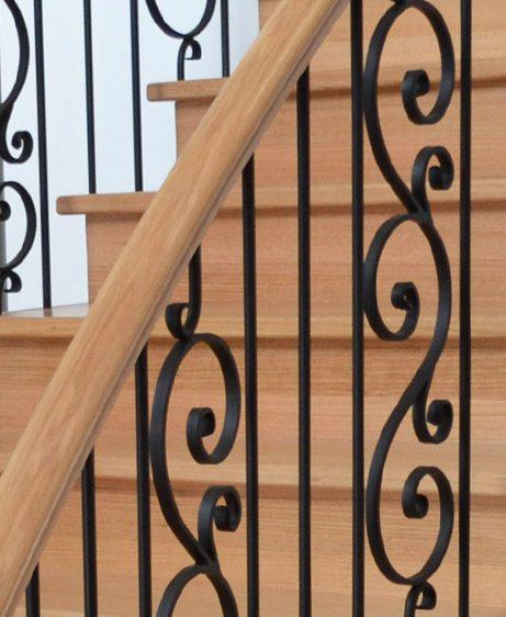 Wrought Iron Balustrade Staircase's Renovations in (GTA) Toronto, Missisauga, Brampton, Ottawa and Vancouver